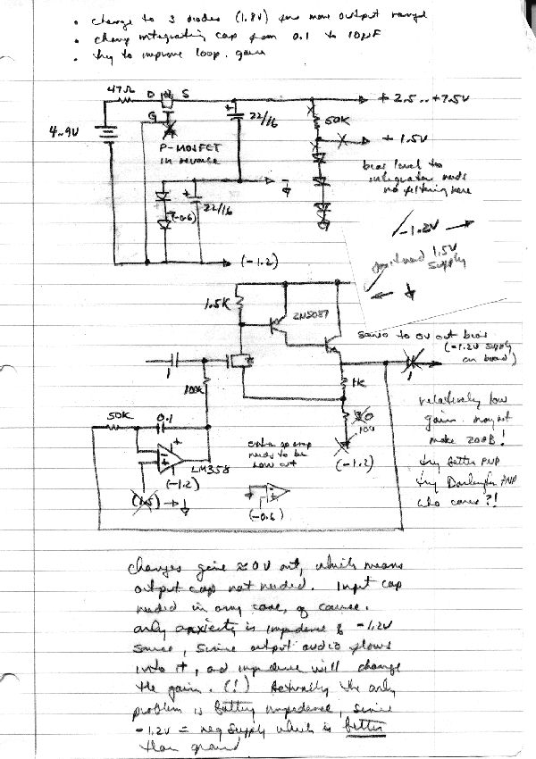 A POWER MOSFET INPUT AUDIO PREAMP