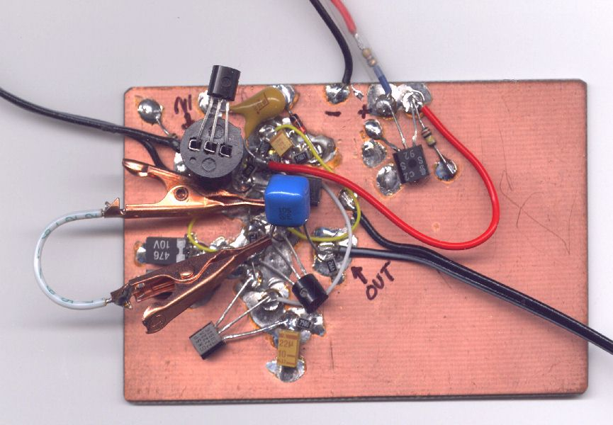Simple JFET Audio Preamps